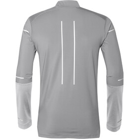 asics Lite-Show Winter LS 1/2 Zip Top Men Mid Grey/Glacier Grey
